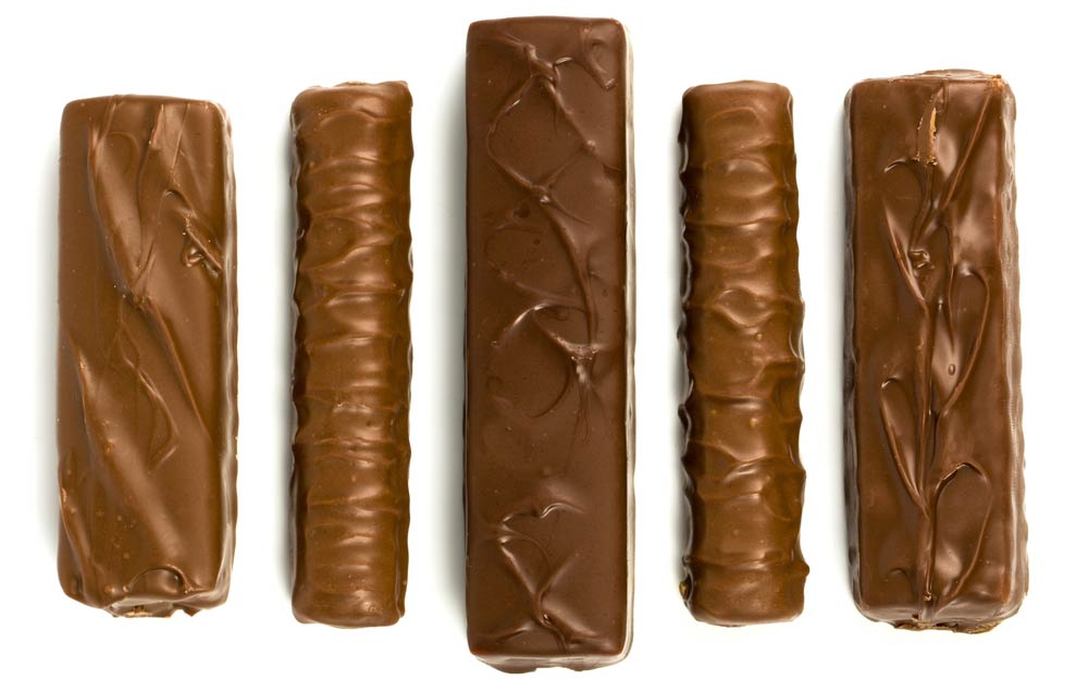 assorted chocolate and candy bars