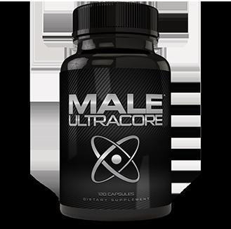 one bottle of male ultracore