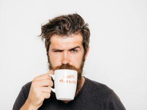 cup of morning joe