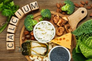 calcium rich food