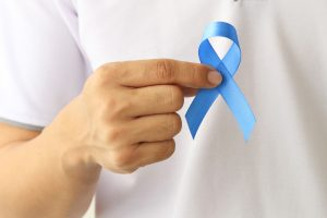 blue prostate cancer awareness ribbon