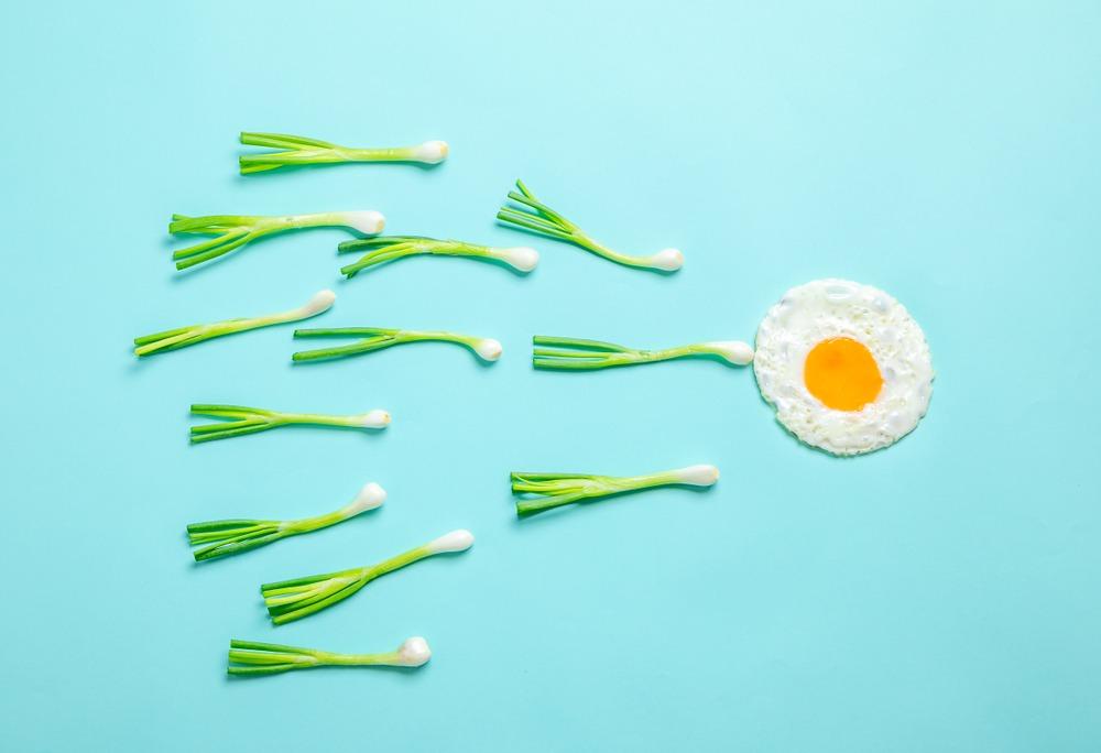 spring onions as sperm