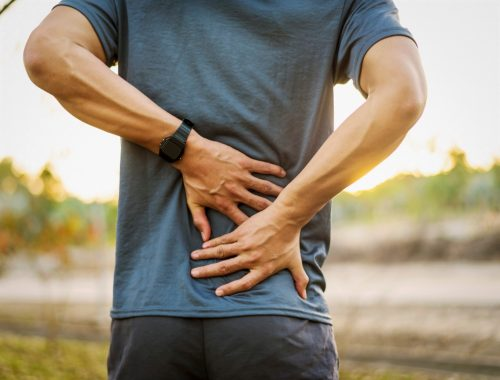 Back pain or injury
